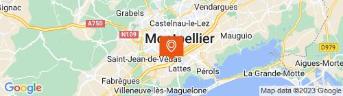 Emplacement centre Controle Auto Lattes Montpellier-Près d'Arènes