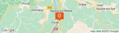 Emplacement centre Auto Contrôle Tourrettois