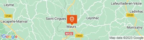 Emplacement centre Contrôle technique 15 ST Etienne de Maurs