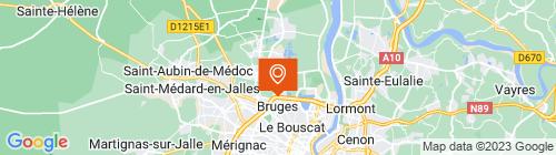 Emplacement centre CONTRÔLE TECHNIQUE ELFA CT - BRUGES
