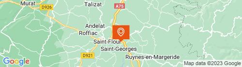 Emplacement centre Contrôle Technique d'Auvergne CTA