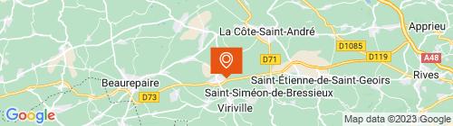 Emplacement centre Auto Contrôle Service