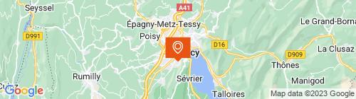 Emplacement centre Contrôle technique d'Annecy