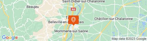 Emplacement centre CONTRÔLE TECHNIQUE AUTOMOBILE DES 3 RIVIÈRES