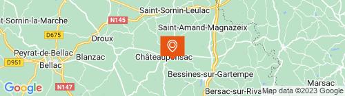 Emplacement centre DPJMC CHATEAUPONSAC