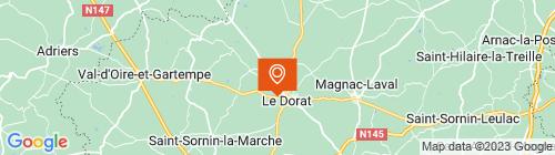 Emplacement centre DPJMC LE DORAT