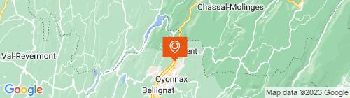 Emplacement centre Mon Contrôle Technique Arbent - Oyonnax- RH CONTRO