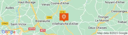 Emplacement centre Contrôle Technique Villefranche d'Allier