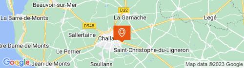Emplacement centre CTPL Challans