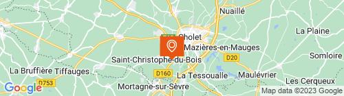 Emplacement centre CTPL Choletais