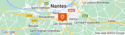 Emplacement centre CTPL Nantais - Rezé
