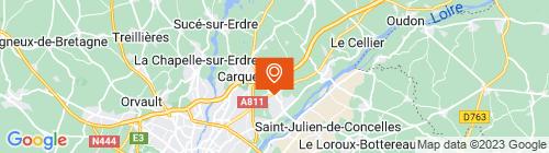 Emplacement centre CTPL Nantais - Thouaré
