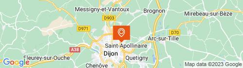 Emplacement centre Contrôle technique Dijon Nord