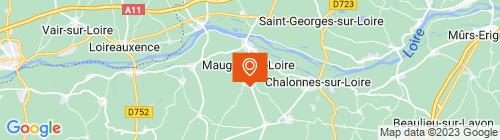 Emplacement centre CENTRE DE CONTROLE TECHNIQUE DU TRANCHET