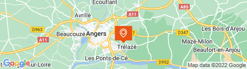 Emplacement centre Contrôle technique Trélazéen