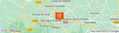 Emplacement centre CONTROLE TECHNIQUE PL MAGNY