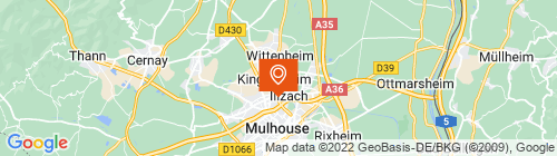 Emplacement centre Mon Contrôle Technique Auchan Mulhouse
