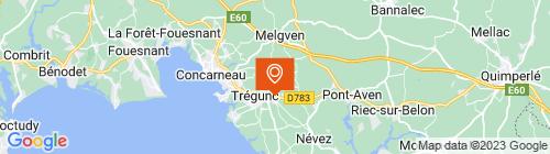 Emplacement centre AUTO BILAN TREGUNC