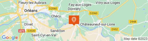 Emplacement centre CTA JARGEAU