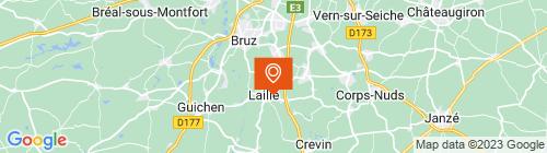 Emplacement centre Breizh Auto Contrôle