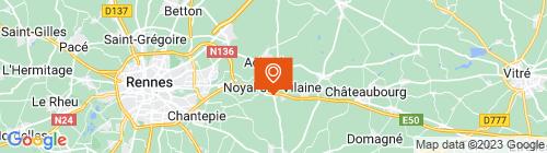 Emplacement centre CONTROLE TECHNIQUE DE LA RICHARDIERE