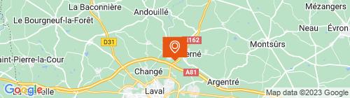 Emplacement centre C.M.P.L. LOUVERNE