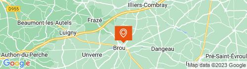 Emplacement centre Auto Bilan de Brou