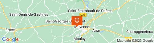 Emplacement centre C.M.P.L. MAYENNE