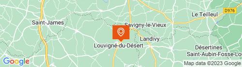 Emplacement centre ControlSur Louvigne