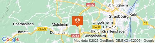 Emplacement centre Alsa Contrôle Duttlenheim