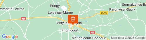 Emplacement centre Contrôle technique Vitry le François