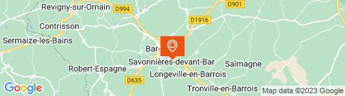 Emplacement centre Auto Contrôles Du Barrois