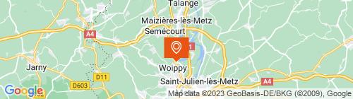 Emplacement centre Auto Bilan Woippy