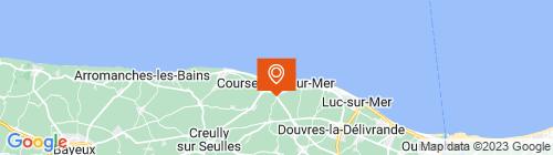 Emplacement centre CTA de COURSEULLES OBRINGER