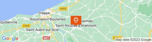 Emplacement centre Controle technique Saint Nicolas d'Aliermont