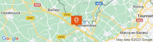 Emplacement centre CT'Autos Nieppe