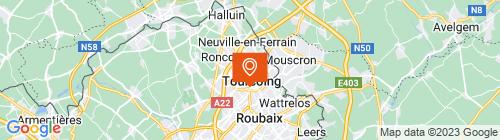 Emplacement centre TOURCOING AUTOMOBILE CLUB DU NORD DE LA FRANCE