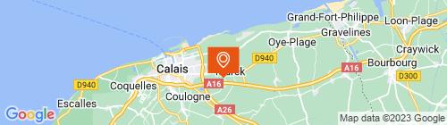 Emplacement centre CONTROLE TECHNIQUE DU LITTORAL
