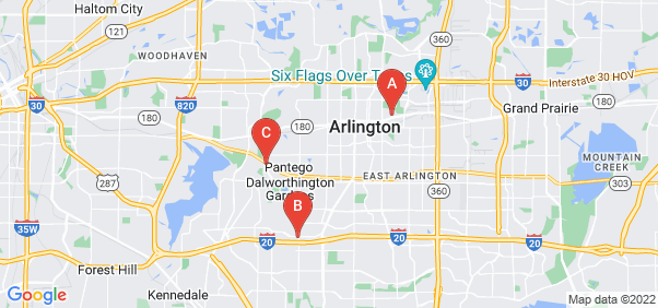 Google static map for Arlington