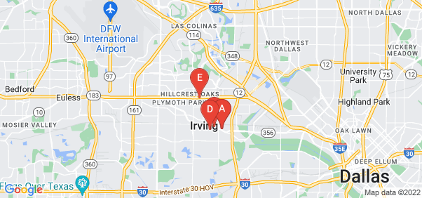 Google static map for Irving