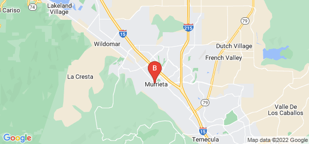 Google static map for Murrieta