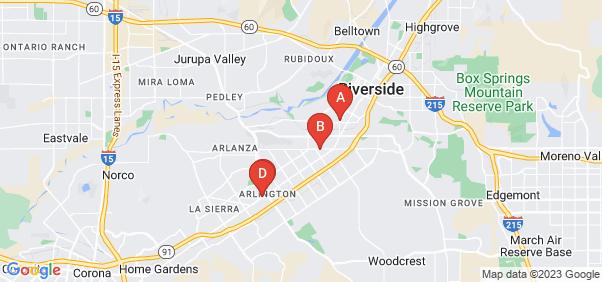 Google static map for Riverside
