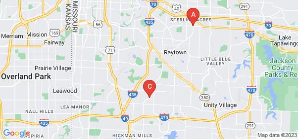 Google static map for Kansas City
