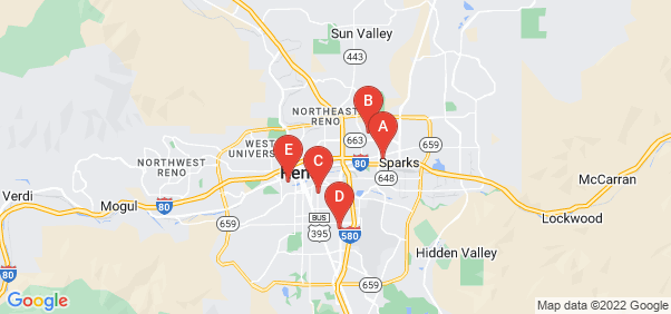 Google static map for Washoe County