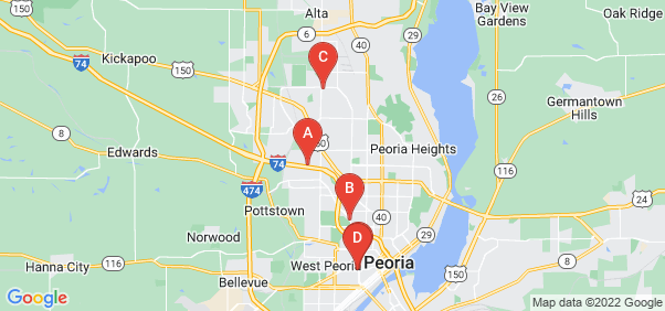 Google static map for Peoria