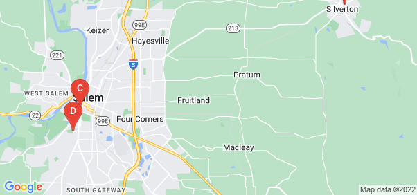 Google static map for Marion County