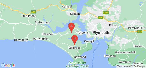 Google static map for Torpoint