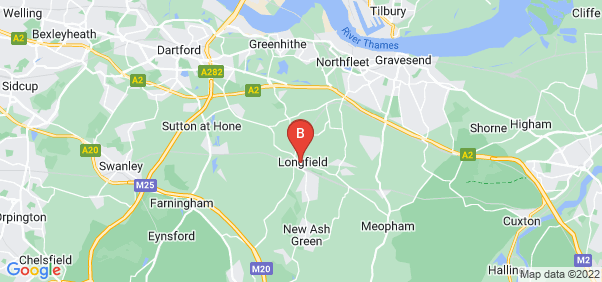 Google static map for Longfield