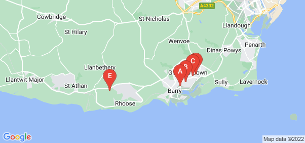 Google static map for Barry