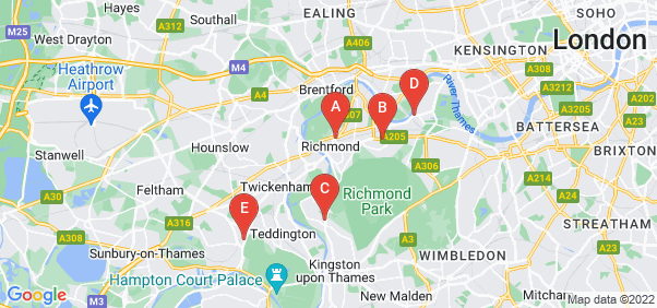 Google static map for Richmond